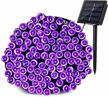 Joomer Solar Garden String Lights Outdoor, 72ft