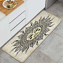 JOSENI Anti-Fatigue Kitchen Floor Mat,Ethnic