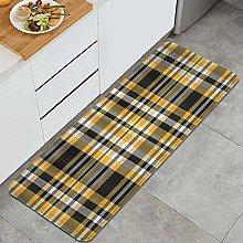 JOSENI Anti-Fatigue Kitchen Floor Mat,Tartan