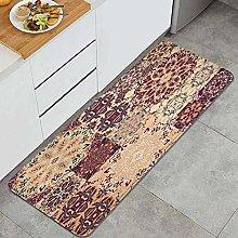 JOSENI Anti-Fatigue Kitchen Floor Mat,Vintage