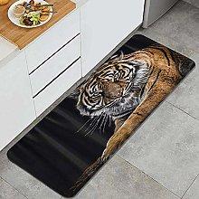 JOSENI Anti-Fatigue Kitchen Floor Mat,Wild Animal
