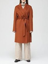 Joseph Cenda Long Double Face Cashmere Wrap Coat -