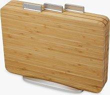 Joseph Joseph Bamboo Index Chopping Board Set,