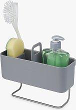 Joseph Joseph In-Cupboard Washing Up Caddy, Grey