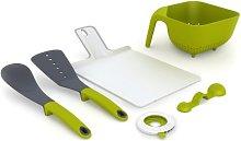 Joseph Joseph Kitchen Set (Green/White)