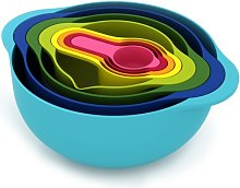 Joseph Joseph Nest 8 Food Preparation Bowl Set,