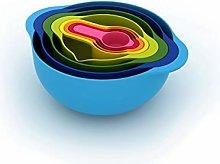 Joseph Joseph Nest 8, Food Preparation Set, Blue,
