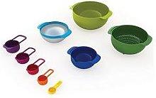 Joseph Joseph Nest 9 Plus Compact Food Prep Set