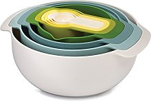Joseph Joseph Nest 9 Plus Nesting Set, Opal -