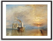 Joseph Mallord William Turner - 'The Fighting