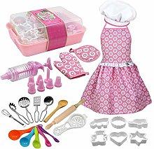 josietomy 22-piece cooking and baking set (Kids