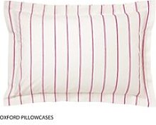 Joules Bedding - Cambridge Floral Oxford Stripe