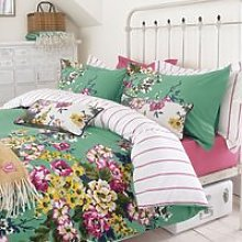 Joules Bedding , Cambridge Floral Single Duvet