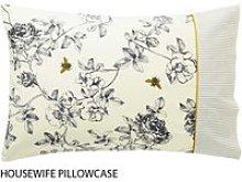 Joules Bedding, Imogen Housewife Pillowcase, Cream