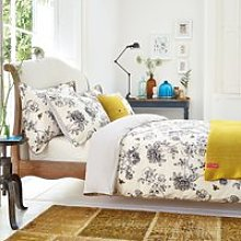 Joules Bedding, Imogen Kingsize Duvet Cover, Cream