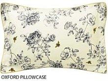 Joules Bedding, Imogen Oxford Pillowcase, Cream