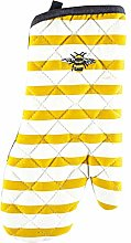 Joules Bumblebee & Stripe Single Oven Glove Mitt |