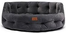 Joules Chesterfield Pet Bed Grey Small