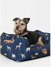 Joules Coastal Collection Square Dog Bed - Medium