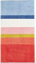 Joules Halcyon Stripe Bath Towel, Multi