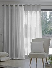 Jover Corcega Net Curtain with Eyelets, Acrylic,
