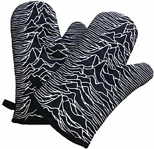 Joy Division Oven Gloves (Pair of Mitts)