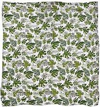 JOYKK Green Leaf Newborn Muslin Cotton Baby