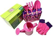JOYKK Little Gardener Tool Set With Bag Kids