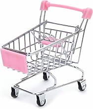 JOYKK Mini Supermarket Hand Trolley Shopping