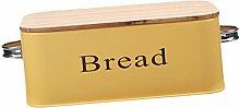 joyMerit Metal Bread Box -Countertop Space-Saving,