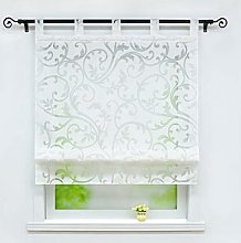 Joyswahl Jessica Roman Blind Burn-Out Curtains