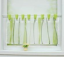 Joyswahl Leonie Net Curtain Voile Bistro Curtains