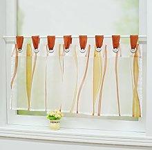 Joyswahl Leonie Voile Bistro Curtains with Loops