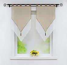 Joyswahl Lydia Net Curtain Voile Bistro Curtains