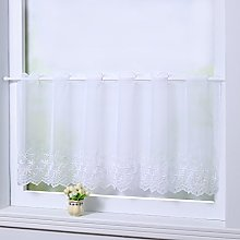 Joyswahl Panel Curtain Voile Bistro Curtains with