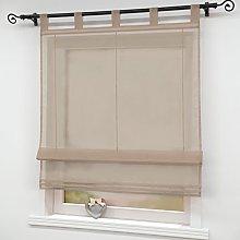 Joyswahl Roman Blind Voile Roman Curtains with
