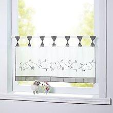 Joyswahl Selina Selina Window Curtain Voile Bistro