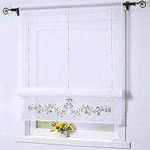 Joyswahl Vanessa Roman Blind Voile Roman Curtains