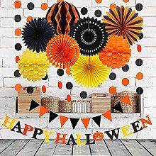 JoyTplay Halloween Party Decorations,Happy