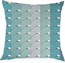 JPDP Geometric Pattern Cushion Cover, Pink