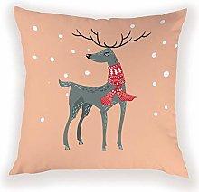 JPDP Santa Claus Cushion Covers for Reindeer