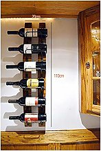 JPL Bar Wine Rack, Hanging Upside Down Cup Holder,