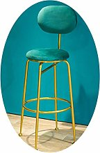 JPL Desk Chairs,Barstools with Backrest on Metal