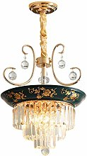 JPL Novelly Decorated Chandelier, Rustic Style