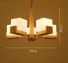 JPL Novelly Decorated Chandelier,Solid Wood