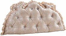 JPVGIA European bedside cushion soft bag/double
