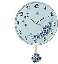JPVGIA Modern Swing Clock Pendulum Clock Creative