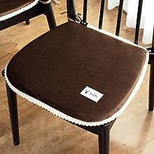 JRAVELR Solid Color Seat Cushions Set Of 2 Cotton