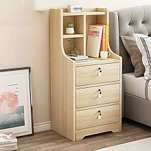 JRPT Big Space,Bedside Cabinet Table Easy to