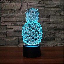 JSDGJSG (Pineapple) Night Light for Kids Boys, 3D